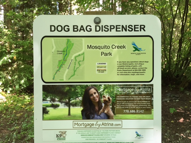 My partnership with North Shore parks & BC SPCA