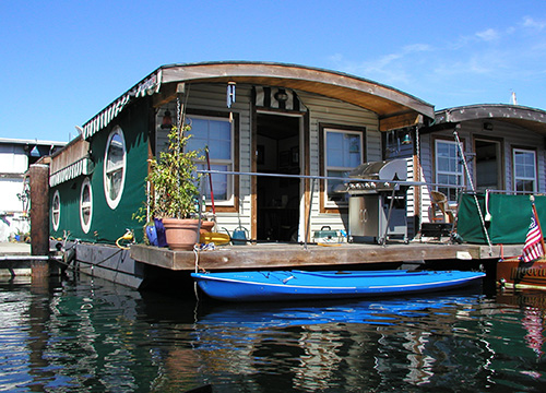 Walking on Water: Mooring & Mortgages for Houseboats