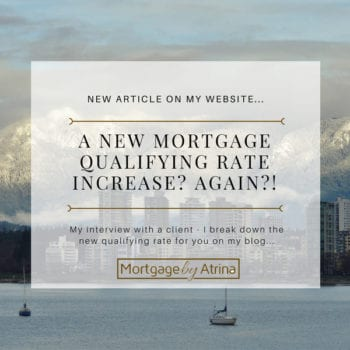 A New Mortgage Qualifying Rate Increase? Again?!